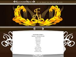 L'armonia del  sito web di Eleonora Mosca