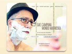 gaecampana.it: Gae Campana, il mondo di un cantautore dalla rasatura perfetta