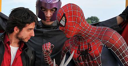Un giorno con i Supereroi
