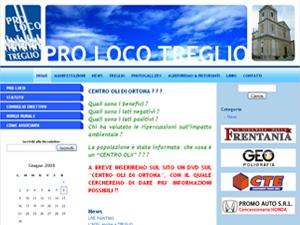 Pro Loco Treglio ed il suo blog