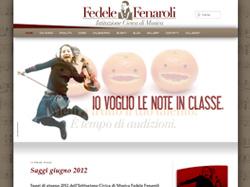 Istituzione Civica di Musica Fedele Fenaroli sul web