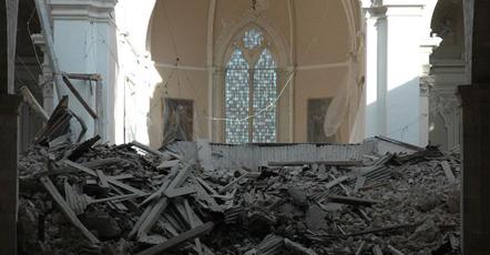 Terremoto in provincia di L'Aquila