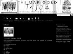 TAJGA il nuovo album The Marigold